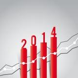 Weihnachtsillustration Stockfoto