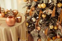 Weihnachtsinnenraum Lizenzfreie Stockfotografie