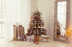 Weihnachtsinnenraum Lizenzfreie Stockfotos