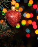 Weihnachtsinneres Stockfotografie