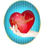 Weihnachtsinneres Lizenzfreie Abbildung