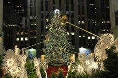 Weihnachtsjahreszeit in New York Stockbilder