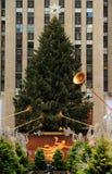 Weihnachtsjahreszeit in New York Stockfotografie