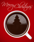 Weihnachtskaffee Stockbild