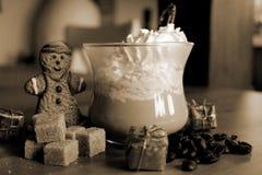 Weihnachtskaffee Lizenzfreies Stockfoto