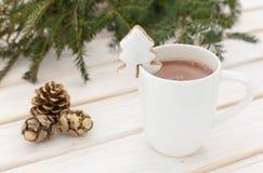 Weihnachtskakao Stockfotografie