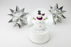 Weihnachtskalender mit am 25 Lizenzfreie Stockfotos