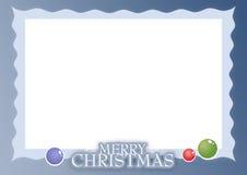 Weihnachtskarte 04 Stockbild