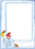 Weihnachtskarte 09 Stockfotos