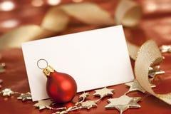 Weihnachtskarte. Stockbilder