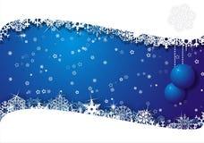 Weihnachtskarte Lizenzfreies Stockfoto