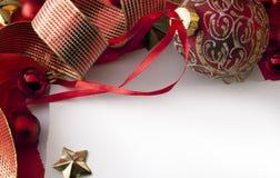 Weihnachtskarte Stockfotos