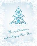 Weihnachtskarte 2013 Stockfoto