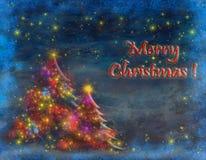 Weihnachtskarte Stock Abbildung