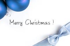 Weihnachtskarte Stockfoto