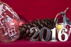 Weihnachtskarte 2016 Stockfotografie