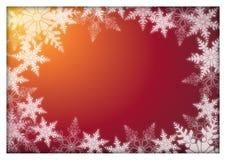 Weihnachtskarte Stockbild