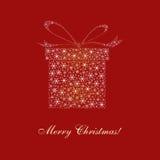 Weihnachtskarte, Auslegung, Vektor, Abbildung Stockbilder