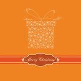 Weihnachtskarte, Auslegung, Vektor, Abbildung Lizenzfreie Stockfotos