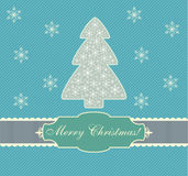 Weihnachtskarte, Auslegung, Vektor, Abbildung Lizenzfreies Stockfoto