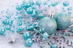 Weihnachtskarte mit Chris Lizenzfreies Stockbild