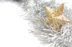 Weihnachtskarte mit copyspace Stockfoto