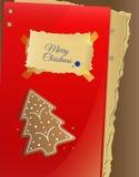 Weihnachtskarte/Schablone Lizenzfreie Stockbilder