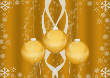 Weihnachtskarte/Tapete Stockbild