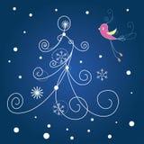 Weihnachtskarte, Weihnachtshintergrund Lizenzfreie Stockfotografie