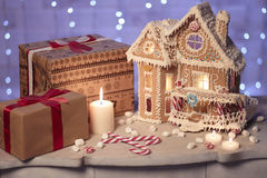 Weihnachtskarte, Weihnachtstapeten Lizenzfreie Stockfotografie