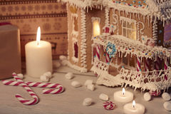 Weihnachtskarte, Weihnachtstapeten Lizenzfreies Stockfoto