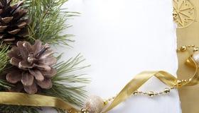 Weihnachtskarten Stockbild