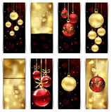 Weihnachtskarten Lizenzfreie Stockfotografie