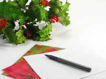 Weihnachtskarten Stockfotografie
