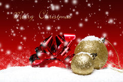 Weihnachtskarten Stockfoto