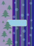 Weihnachtskarten. Postkarte Lizenzfreies Stockfoto