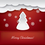 Weihnachtskartenentwurf stock abbildung