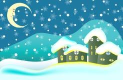 Weihnachtskartenhintergrund Stockfotografie