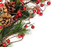 Weihnachtskartenhintergrund Stockfotos