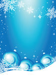 Weihnachtskartenvektor Lizenzfreies Stockbild