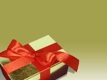 Weihnachtskasten Lizenzfreies Stockfoto