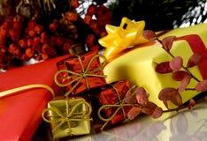 Weihnachtskasten Stockfotos