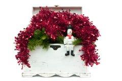 Weihnachtskasten Stockbilder