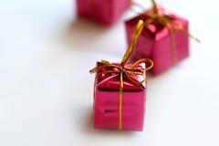 Weihnachtskasten-Geschenke Lizenzfreies Stockbild