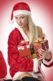 Weihnachtskasten und -schönheit Lizenzfreies Stockbild