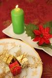 Weihnachtskerze Stockfotografie