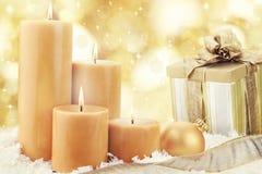 Weihnachtskerzen Lizenzfreies Stockbild