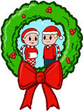 Weihnachtskinder Lizenzfreie Stockfotografie
