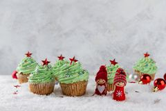 Weihnachtskleine kuchen Lizenzfreie Stockfotografie