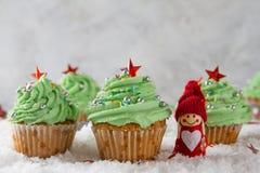 Weihnachtskleine kuchen Stockfotos